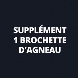 Supplément 1 Brochette...