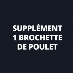 Supplément 1 Brochette de...