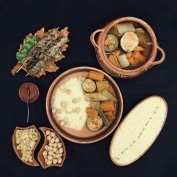 Couscous brochettes de Veau